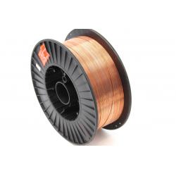 Сварочная проволока омедненная СВ08Г2С-0, ф 0,8 мм (катушка 15 кг), DEKA