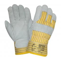 Перчатки спилковые утепленные комбинированные 0295