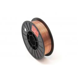 Сварочная проволока омедненная СВ08Г2С-0 ф 1,0 мм (5 кг), DEKA