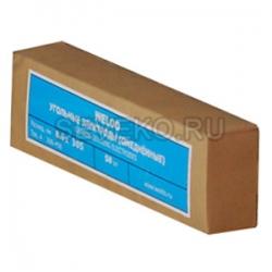 Электрод угольный ф 8,0 мм (омеднен.)