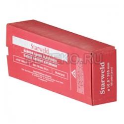 Электрод угольный ф 10,0 мм (омеднен.)